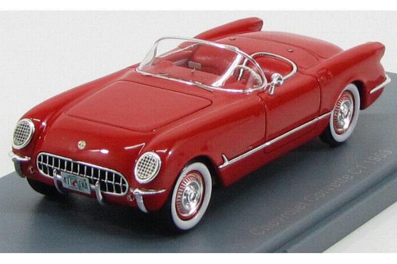 KEVROLET Corvette C1 Kongrönibla neoskalmodellllerler 1 43 NEO457455