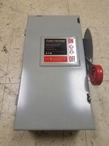 Details about Cutler Hammer Disconnect 60 AMP 600 V HD DH362UGK Used