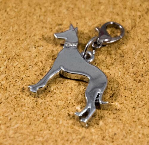cadena etc pulsera manojo de llaves perro joyas Greyhound colgante para bolso