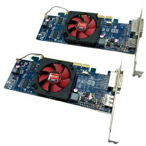 (LOT OF 2) 0VVYN4 Dell ATI Radeon HD7470 1GB DDR3 PCI-Express x16 Graphics Card