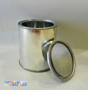 DECORAZIONE-6-barattoli-di-latta-vuoti-da-270-ml-coperchio