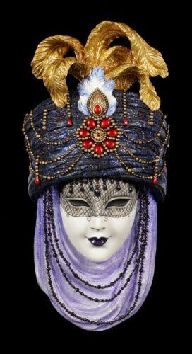 Coloré Vénitiens Masque-caerula-Veronese arabe nuits-Mur Deco