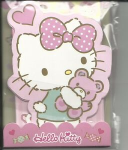 Sanrio Hello Kitty Mini Stationery Set With Gold Stickers