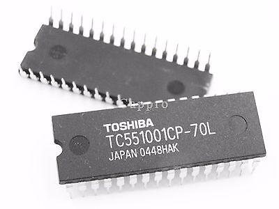 10pcs TOSHIBA TC551001CP-70L IC DIP-32 TC551001