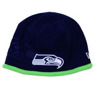2015-2016 New Era NFL Seattle Seahawks Tech Knit On Field Sideline ... a23a65917dd