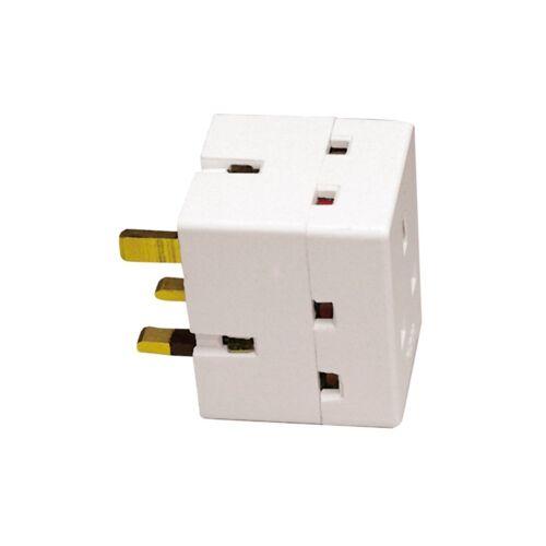 Surge Protected Extension Lead UK Plug Tour Câble Adaptateur Multi Socket Light