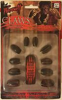 Werewolf Claw Fingernails Stick-on Finger Nails Tip Were Wolf Claws Tips Adult