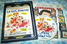 DVD DUBOUT dans LA RUE SANS LOI avec louis de funès annette poivre etc ..