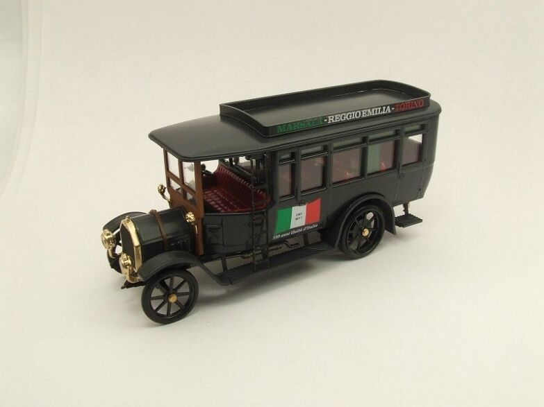 RIO 0150D - Fiat 18 BL Autobus - 150 ans unité italienne 1 43