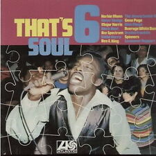 "12"" LP That`s Soul 6 (Spinners, Herbie Mann, Ben E. King) Warner Atlantic MIDI"