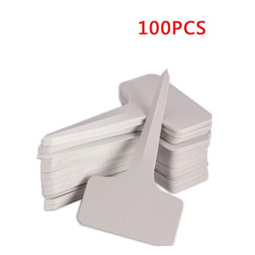 Neu 50//100 Pflanze Stakes Marker Label Pflanzenschilder Pflanzenetiketten U