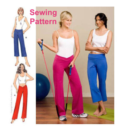 Kwik Sew K3443 Pattern Misses Pants XS-XL BN