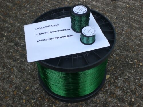 magnet winding wire 0.19mm-1.60mm 500GRAMS SOLDERABLE GREEN enamelled copper