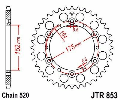 YAMAHA BANSHEE JT SPROCKET /& JT X1R X-RING CHAIN SET 14//41 1989-2006
