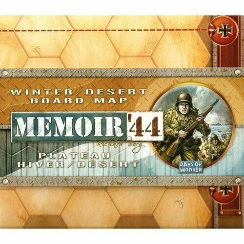 Winter English Edition Memoir /'44 New by Days of Wonder Desert Board Map