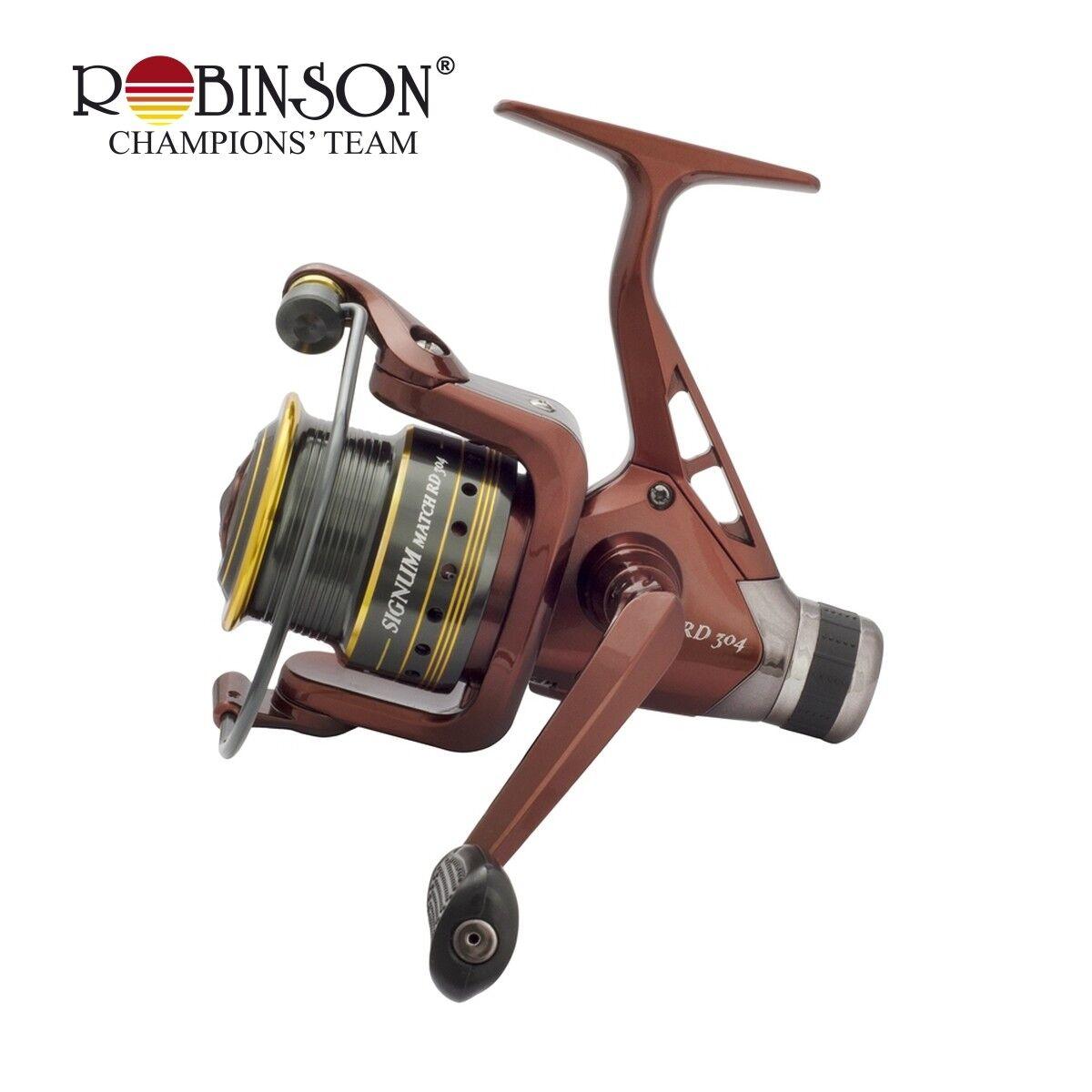 Robinson SIGNUM Match 204 RD  Wide Angle Roll Fishing Reel Match Reel Rear Brake