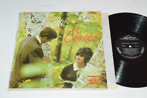 GINETTE-RENO-En-Amour-LP-1965-Apex-Records-Canada-ALF-1580-Mono-Quebec-Pop
