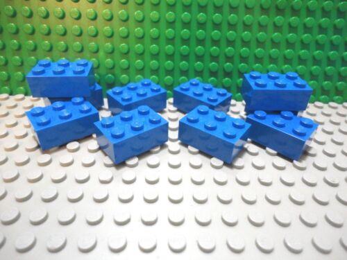 Lego 10 Blue 2x3 brick block NEW