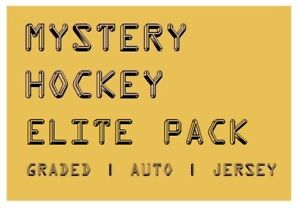 MYSTERY-HOCKEY-ELITE-PACK-CARDS-Graded-Auto-039-d-Jersey-Hits-250-750-BV