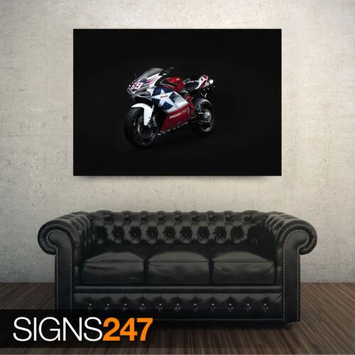 Ducati 848 vélo 1594 Moto Poster-Photo Poster print ART A0 A1 A2 A3 A4