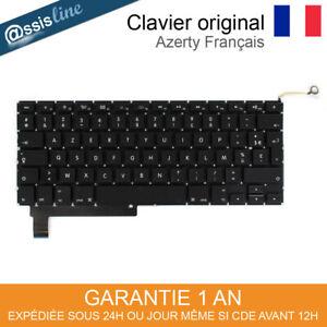 """Clavier Français FR Original Apple MacBook Pro 15"""" Unibody A1286 Mi2009-2013"""
