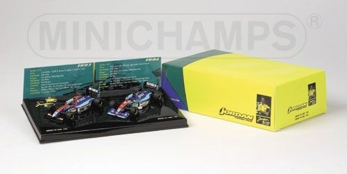 Jordan Hart Set 1993 & 1994 1 43 Model MINICHAMPS