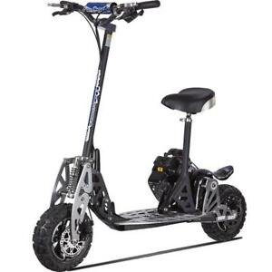 Evo 2x Big 50cc Scooter With Seat Gas Powered Powerboard Fast Kids