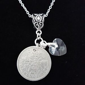 Fine Jewelry Silver Hallmarked Sixpence Bracelet