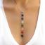 7-Chakra-Beads-Pendant-Reiki-Yoga-Healing-Balancing-silver-chain-Necklace-gift thumbnail 1