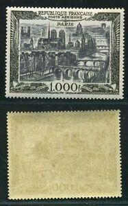 FRANCE-STAMP-TIMBRE-POSTE-AERIENNE-N-29-034-AVION-PARIS-1000-F-034-NEUF-XX-TTB