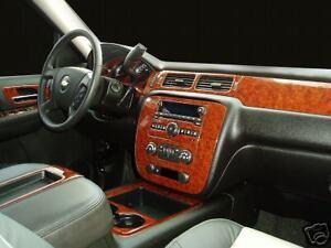 Chevrolet chevy suburban interior wood dash trim kit set - Chevrolet replacement parts interior ...