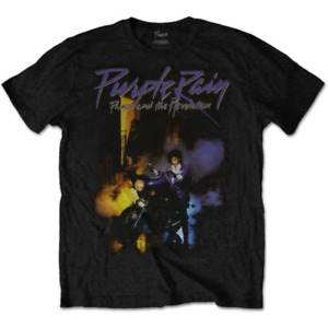 Prince Unisex Tee Purple Rain - X-large Prints01mb04