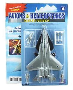 FABBRI ITALERI 1:100 modello pressofuso-modello Militare MAGAZINE No.6 - F-15 Eagle