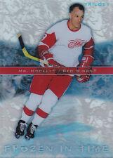 06-07 Trilogy Gordie Howe /999 Frozen In Time Mr.Hockey Upper Deck 2006
