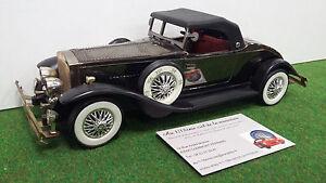 LINCOLN-Vintage-AM-RADIO-echelle-approximative-1-18-voiture-miniature