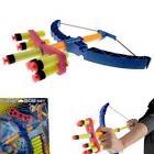 Children Kids Safe Toy Gifts Sucker Bullet Archery Gun with Bow and Arrow Set