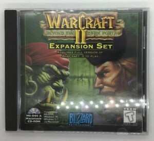 Warcraft-II-Beyond-The-Dark-Portal-PC-CD-Rom-MS-DOS-Macintosh-Windows-Blizzard