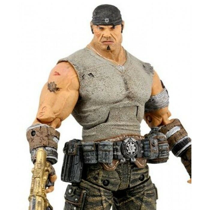 NECA GEARS OF WAR 3 SERIE 3 JOURNEY'S END MARCUS ACTION FIGURE NEW in BLISTER