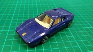 BURAGO-1-43-FERRARI-GTO-1990-Blu-Metallico-auto-sportive-italiane-da-collezione-giocattolo