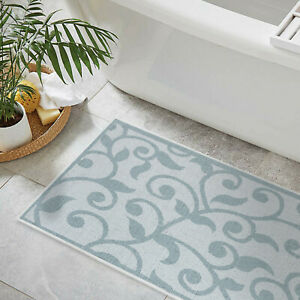 3 Piece Bathroom Rugs Set Non Slip Ultra Thin Bath For Floor Ebay