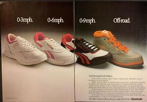 Vintage 1987 Reebok Walkers Variety Of