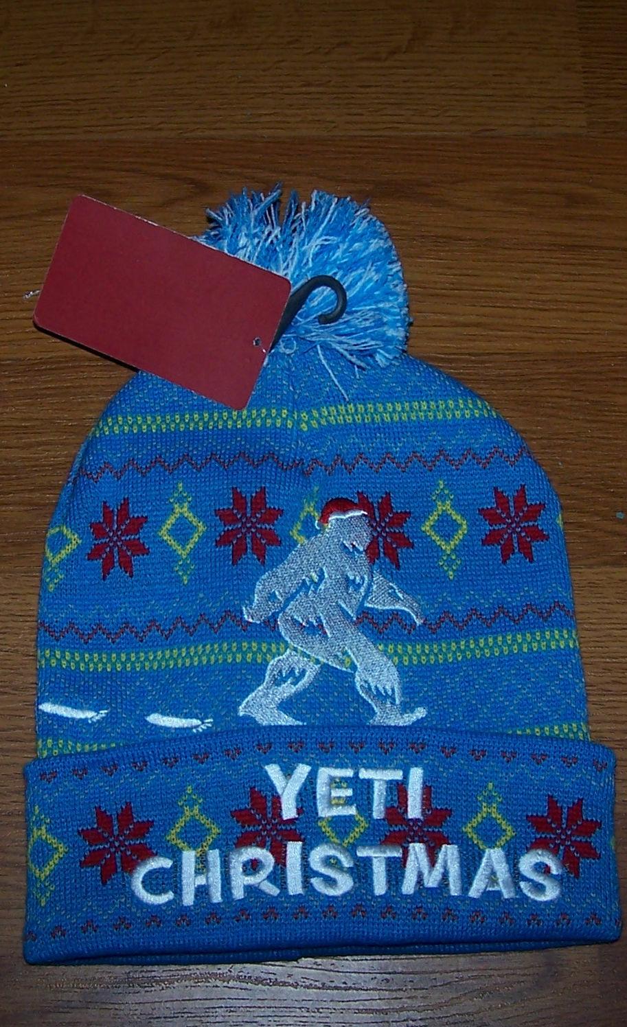 Christmas themed Yeti beanie