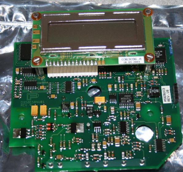 ABB Pantalla Parte de control 240266003 Pieza N º d685a569u03 0363096.a