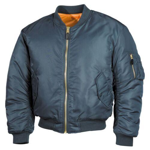 Ma1 Giubbotto Aviazione Flight Uomo Giacca Mfh Militare Americana Us Jacket wqI5z
