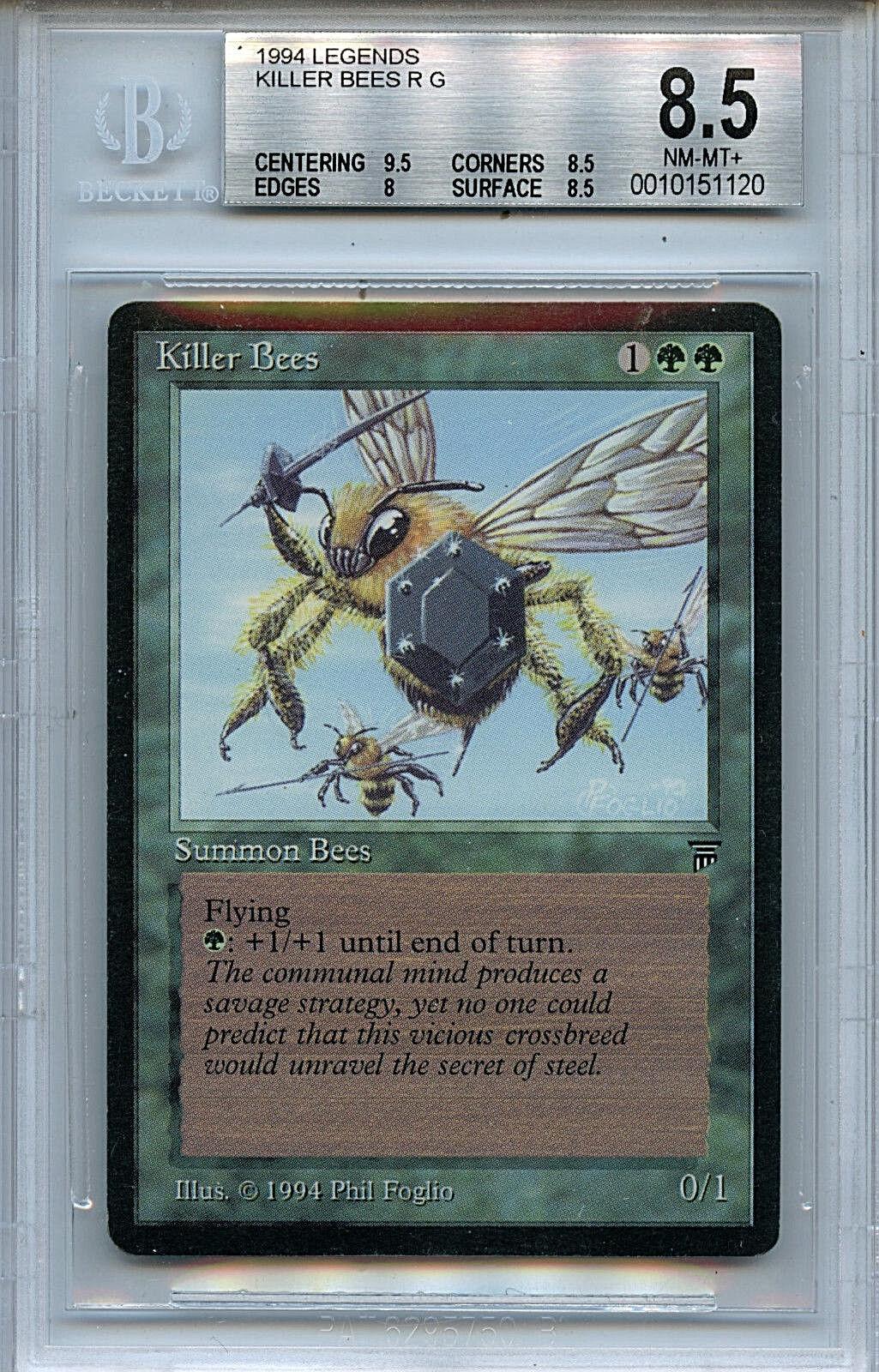 MTG Legends Killer Bees BGS 8.5 NM-MT+ card Magic the Gathering WOTC 1120