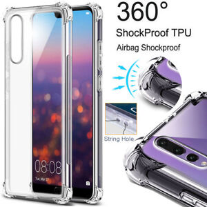 For Huawei P20 Pro Lite/P8 P9 P10 Lite Shockproof Slim Silicone TPU Cover Case