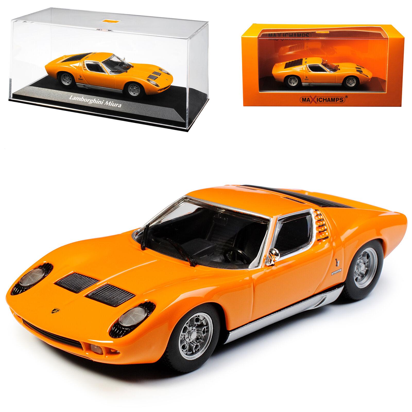 Lamborghini Miura p400 Coupe Orange 1966-1975 1 1 1 43 MINICHAMPS maxichamps Model... 8317a5