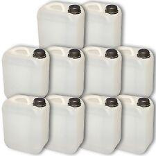 10 x 5 l Wasserkanister, Kanister, Camping,Behälter,NEU (10x22004)