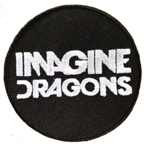 Imagine Dragons Black /& White Patch Badge Iron Or Sew On 7.5cm