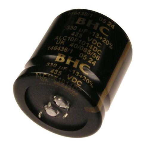 BHC Netzteil Elko 3 Pins snap-in Kondensator 330uF 435V ALC10F1014DC 700747
